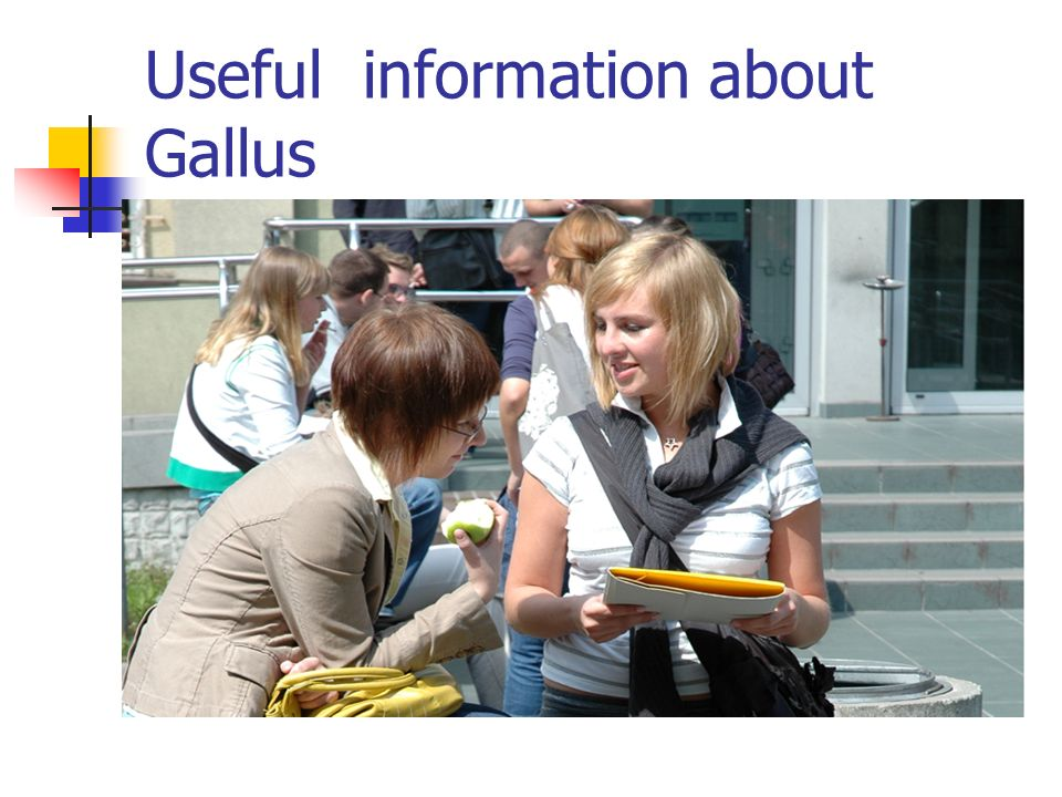 Useful information about Gallus