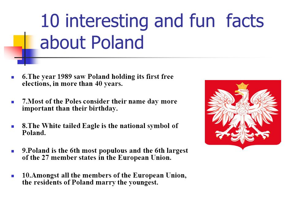 10 interesting and fun facts about Poland