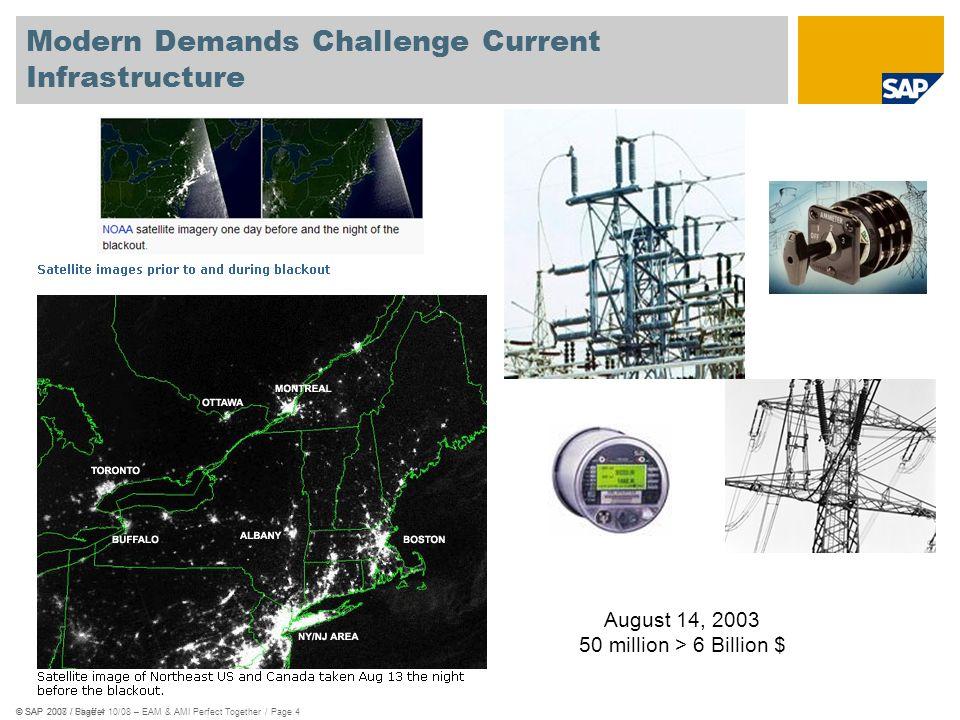 Modern Demands Challenge Current Infrastructure