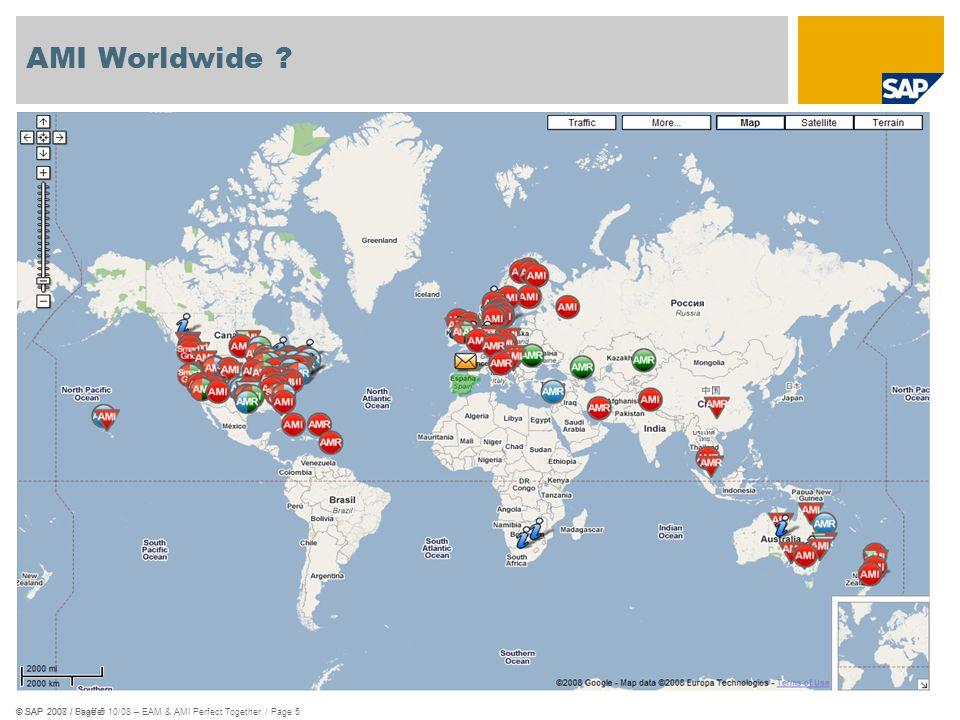 AMI Worldwide © SAP 2007 / Page 5