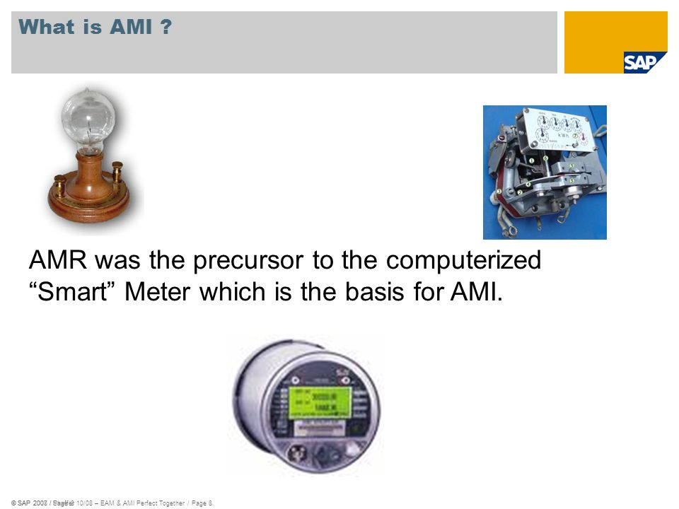 AMR was the precursor to the computerized
