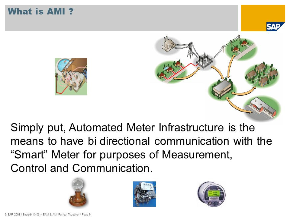 Simply put, Automated Meter Infrastructure is the
