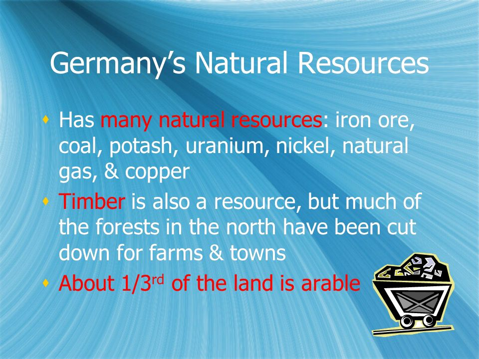Germany's Natural Resources