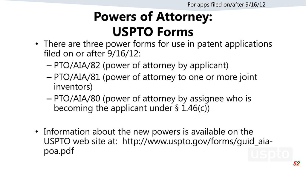 Uspto Forms Power Of Attorney Image Collections Free Form Design