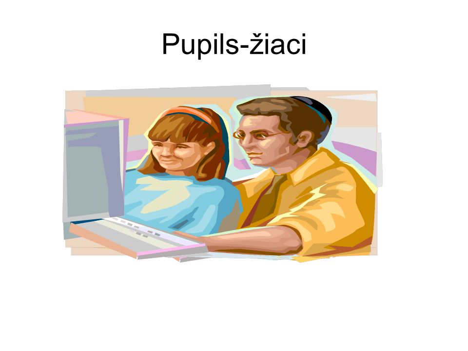 Pupils-žiaci