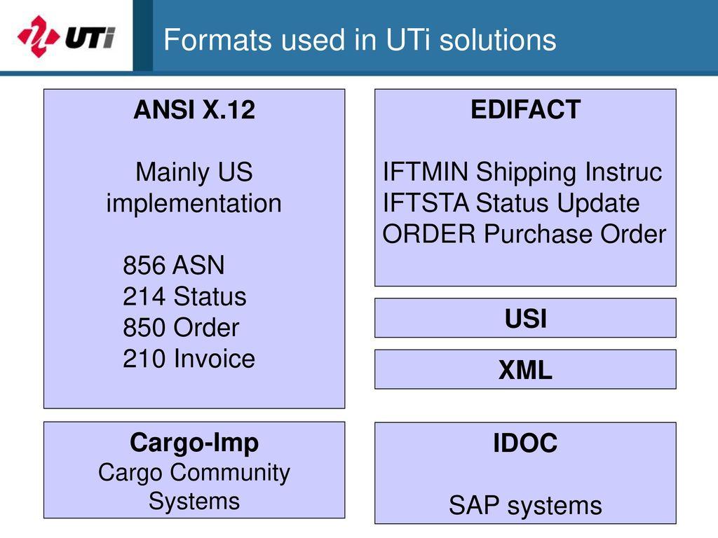 uti shipping