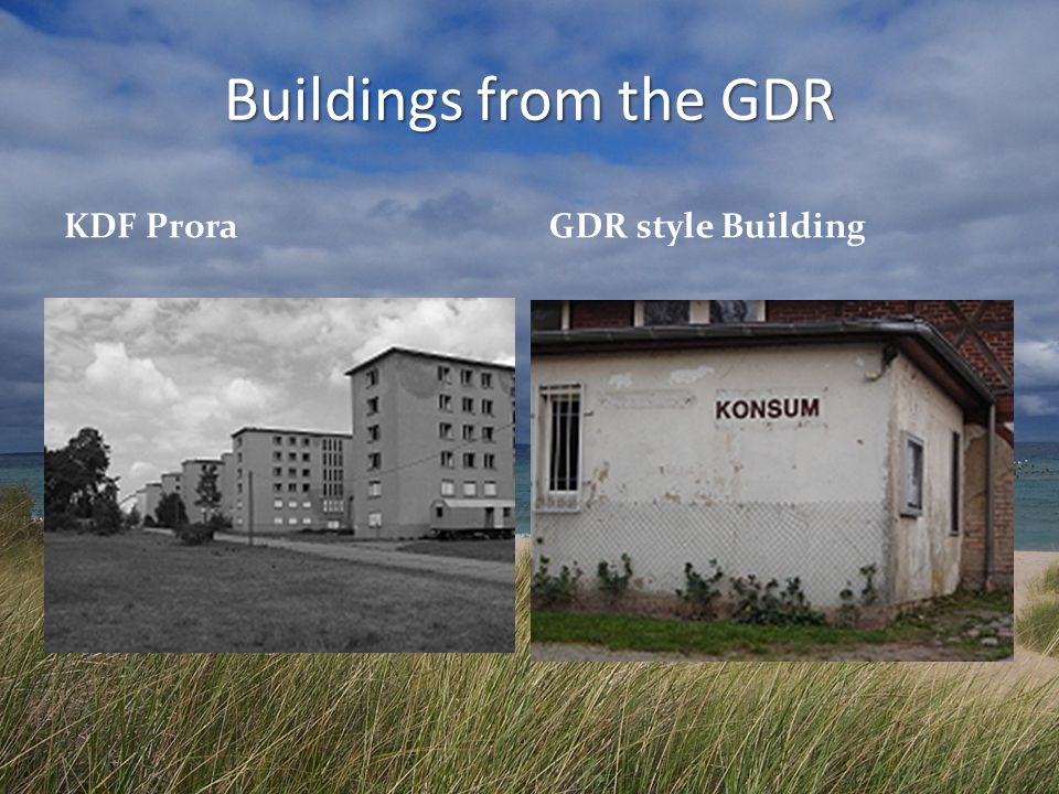 Buildings from the GDR KDF Prora GDR style Building
