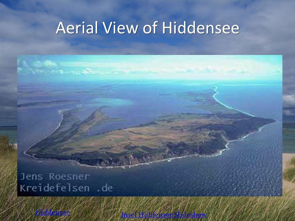 Aerial View of Hiddensee