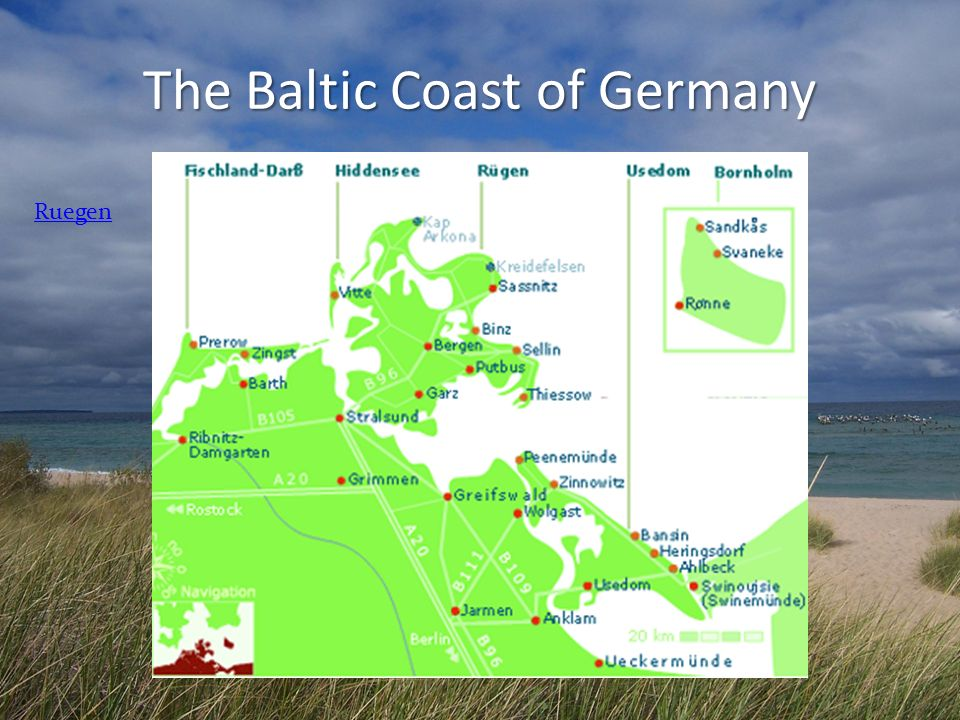 The Baltic Coast of Germany