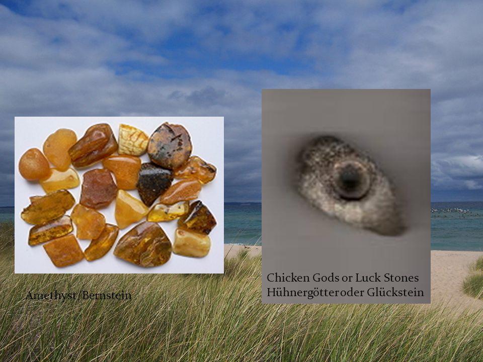Chicken Gods or Luck Stones
