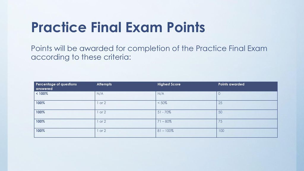 Psyc 2301 introduction to psychology ppt download 13 practice final exam points fandeluxe Image collections