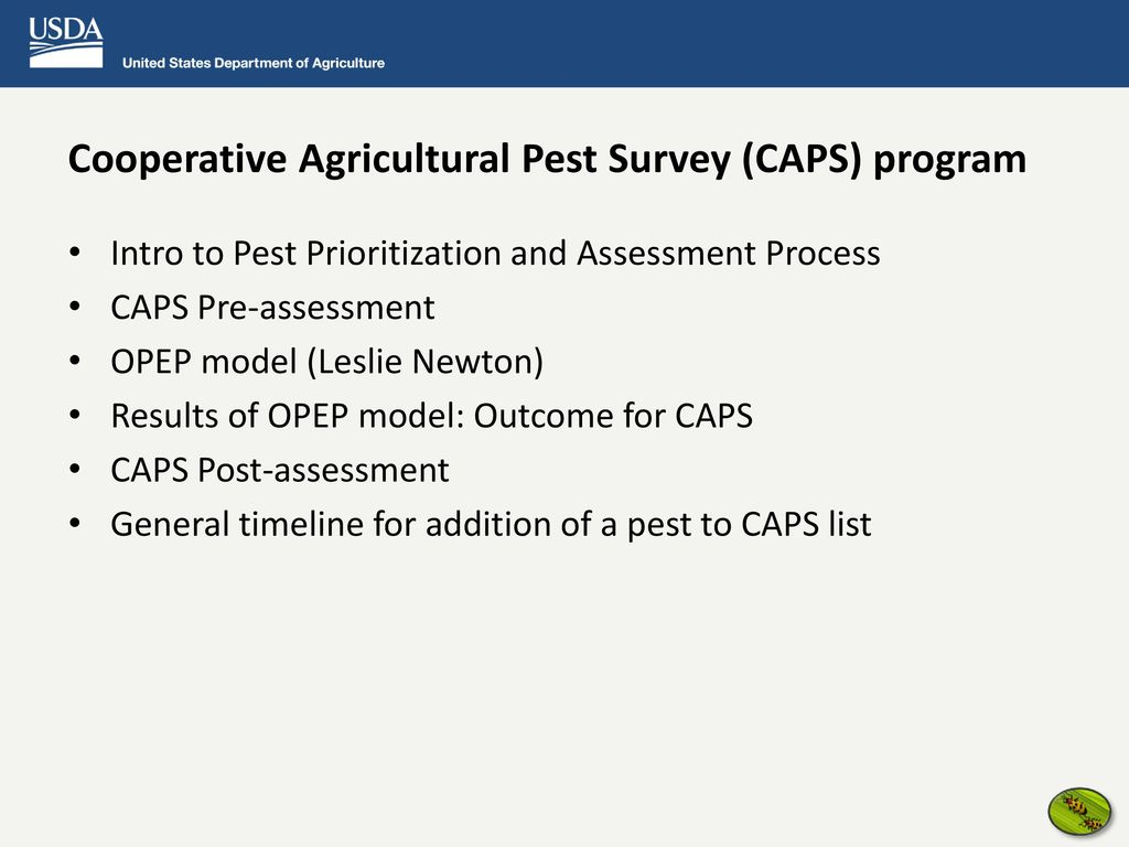 b2ffde314a2 Pest Assessment and Prioritization Process - ppt download