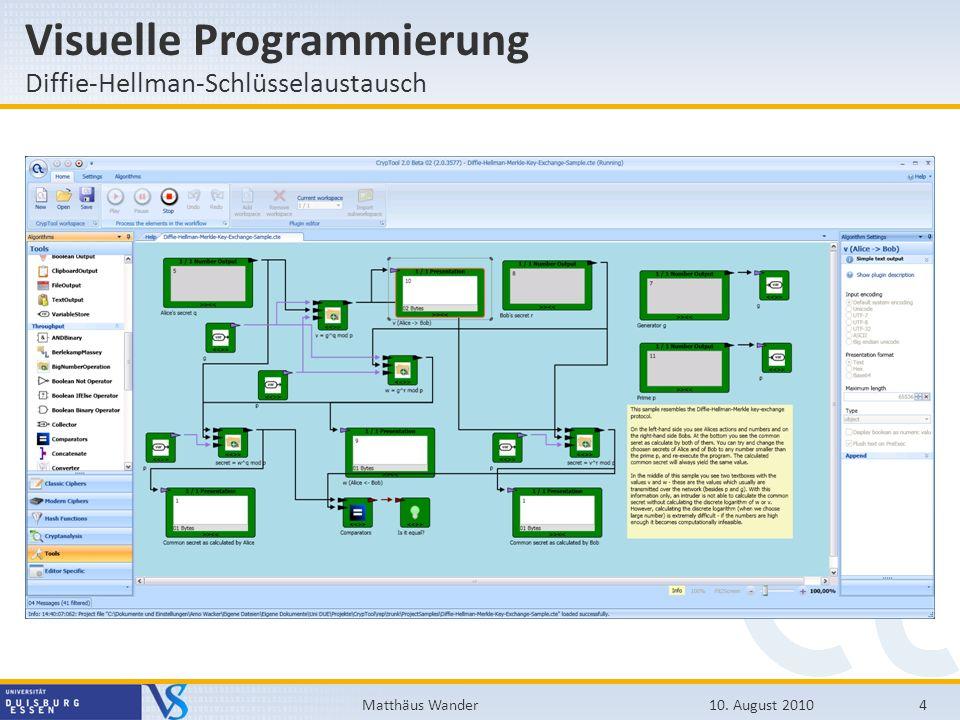 Visuelle Programmierung
