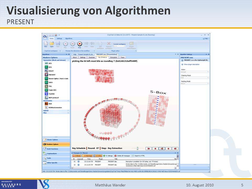 Visualisierung von Algorithmen