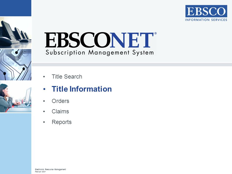 Title Information Title Search Orders Claims Reports