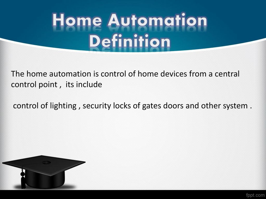 Home Automation using Arduino - ppt download