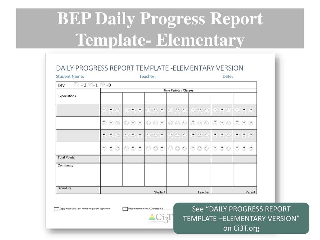 Beautiful Kindergarten Progress Report Template Inspiration