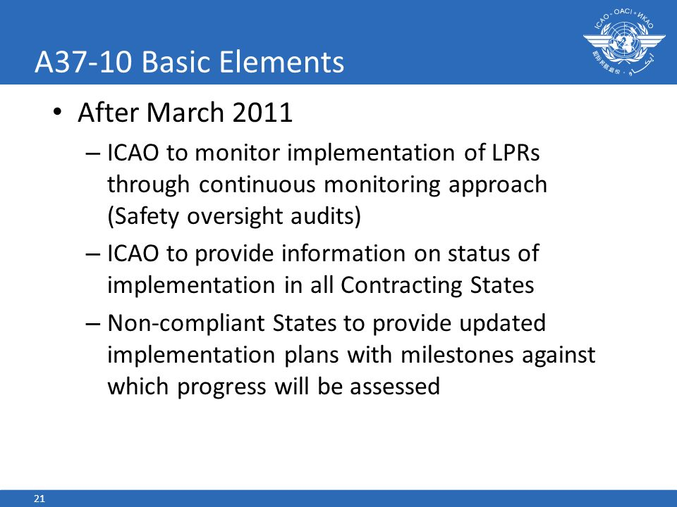 A37-10 Basic Elements After March 2011