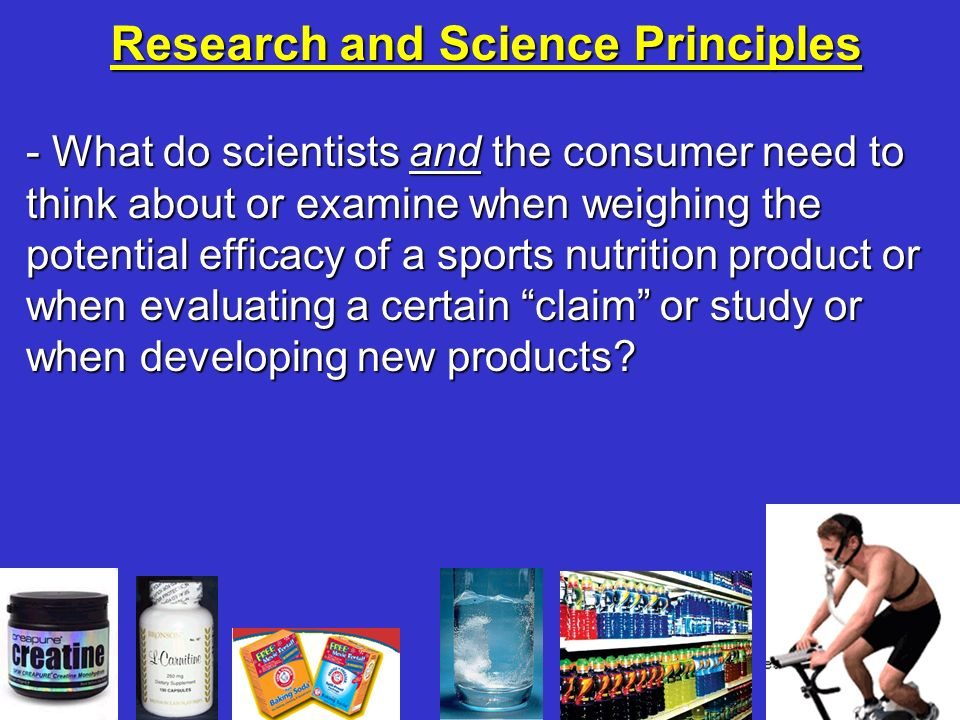 Research and Science Principles
