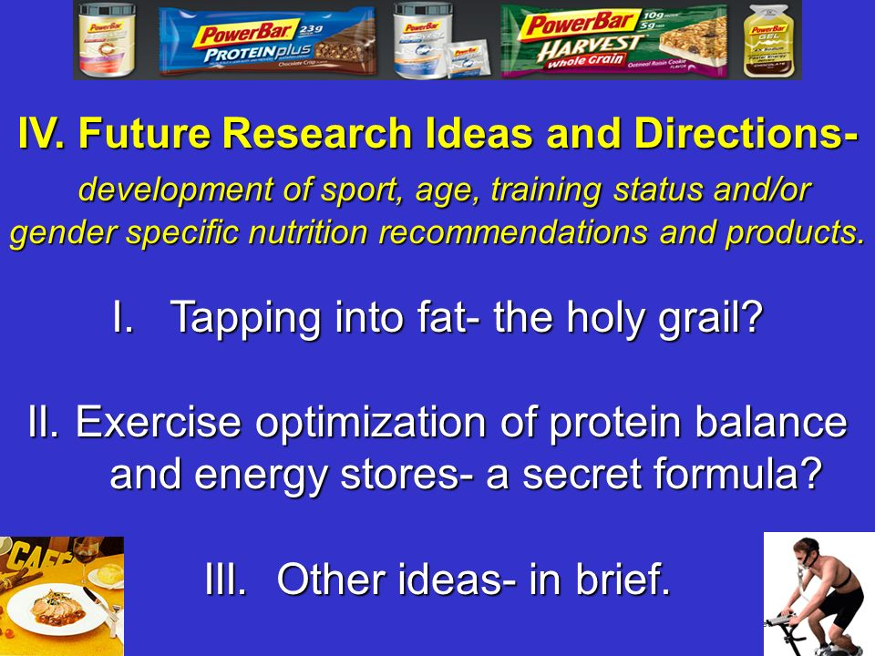 IV. Future Research Ideas and Directions-