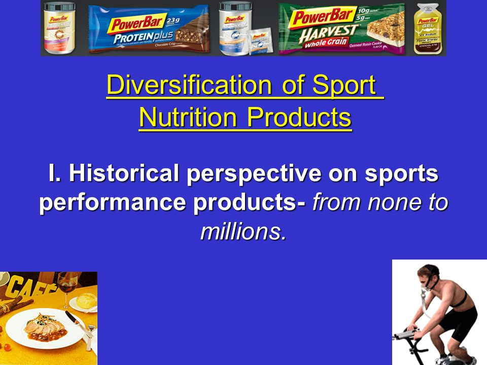 Diversification of Sport