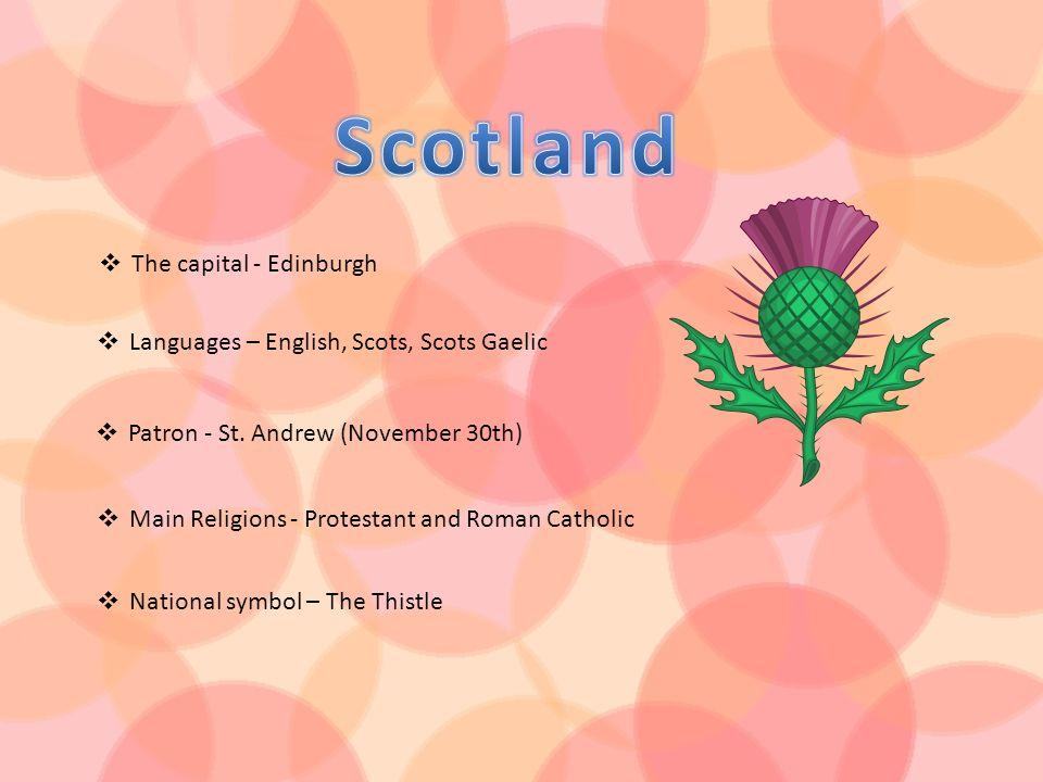 Scotland The capital - Edinburgh