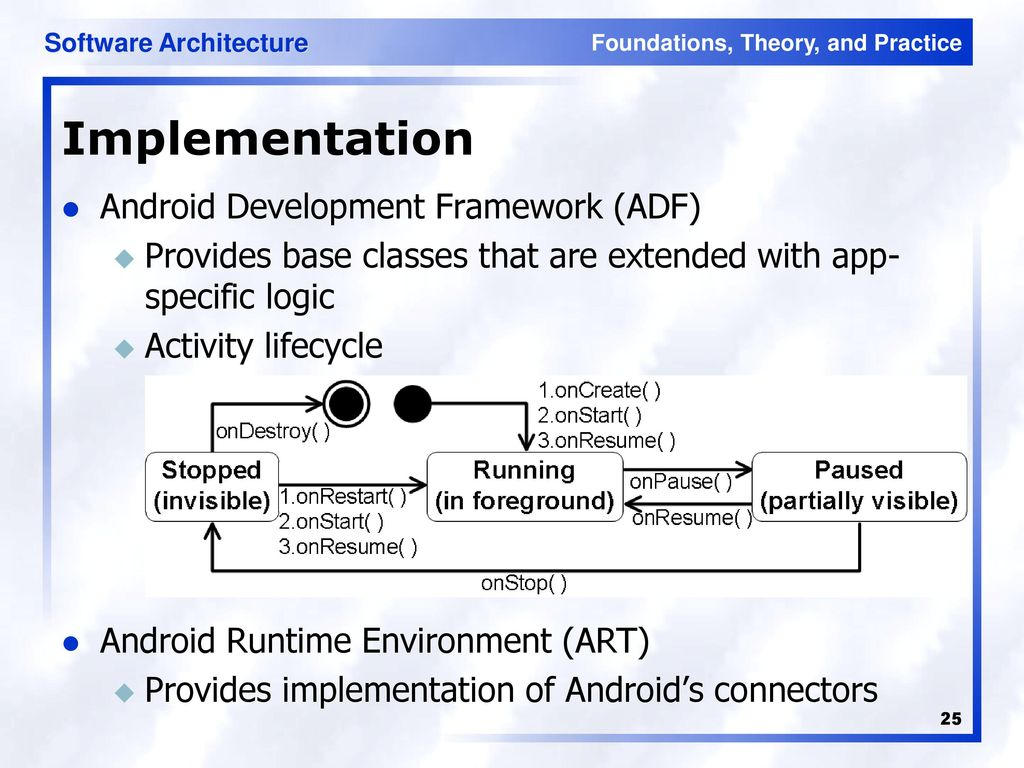android development framework