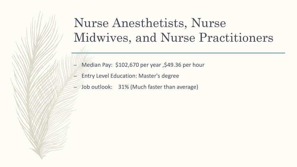 4 nurse anesthetists