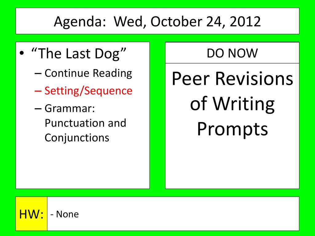 Agenda: Monday, October 22, ppt download