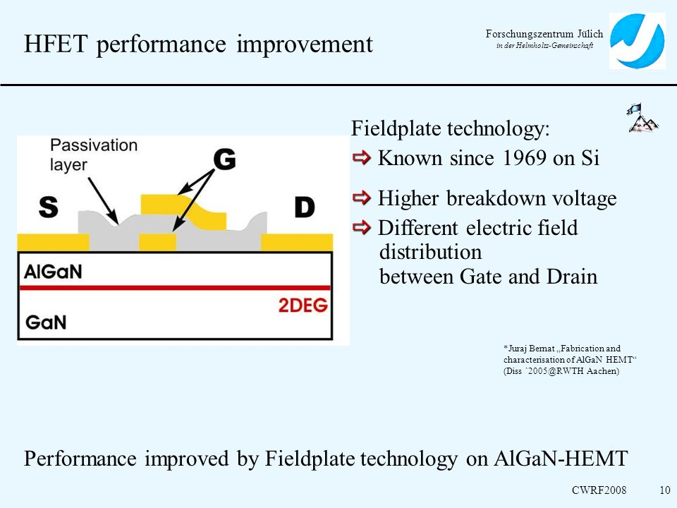 HFET performance improvement