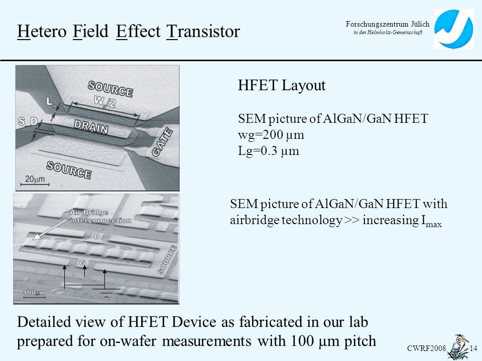 Hetero Field Effect Transistor