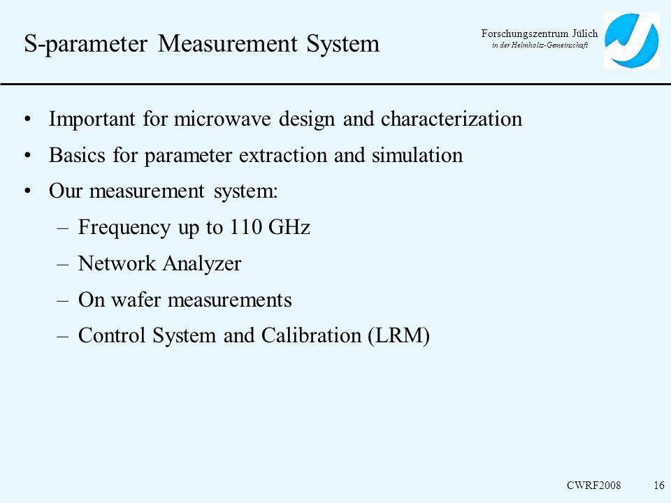S-parameter Measurement System