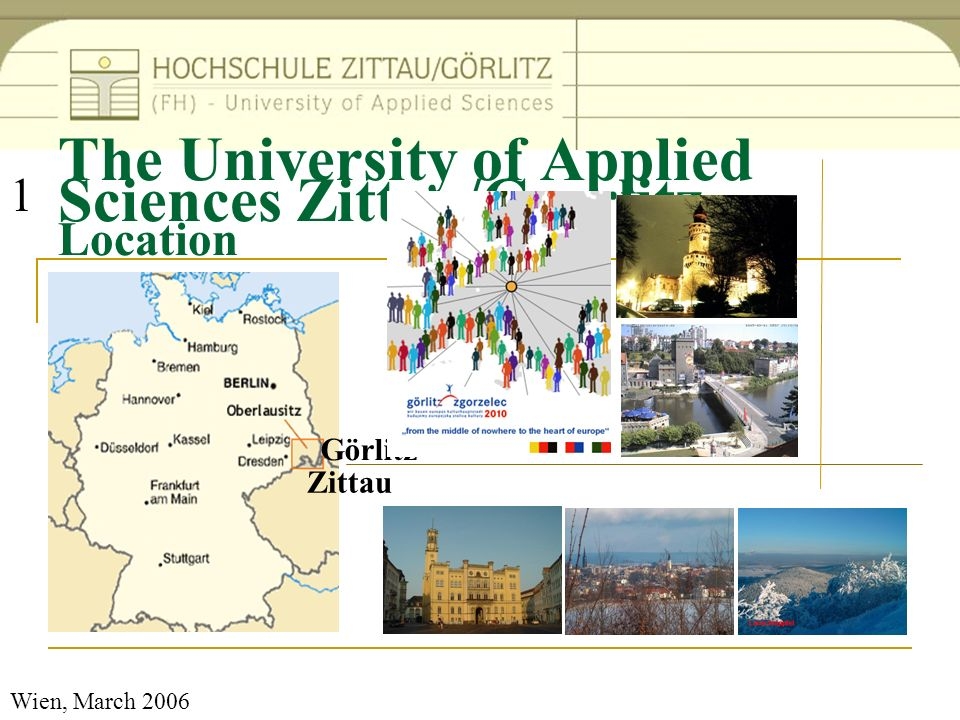 The University of Applied Sciences Zittau/Goerlitz Location