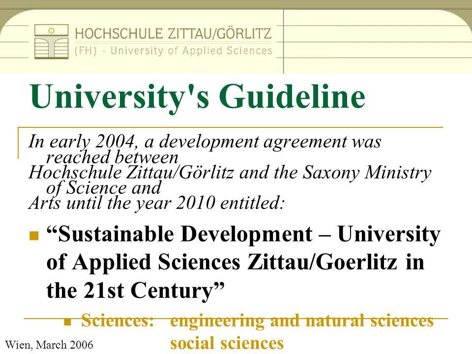 University s Guideline