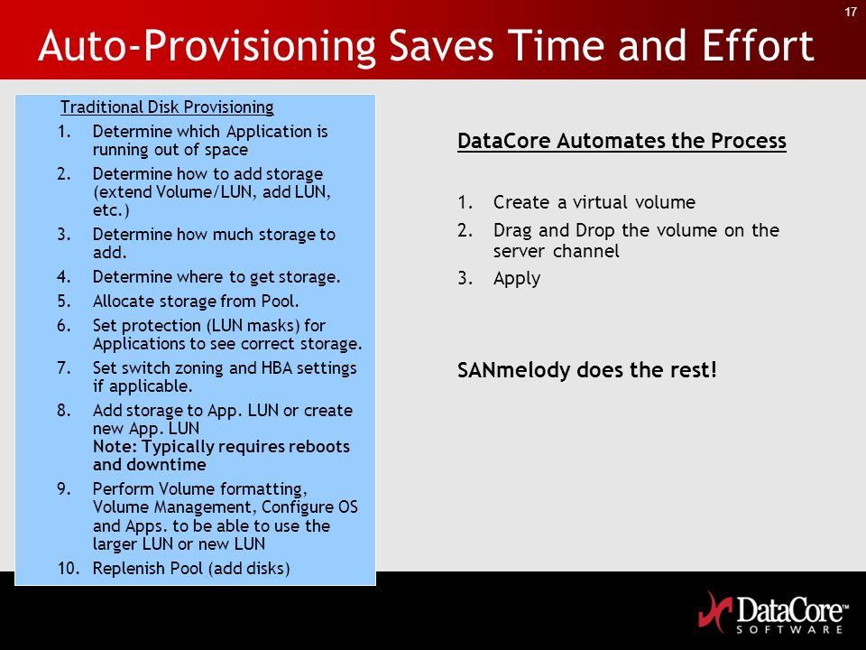 Auto-Provisioning Saves Time and Effort