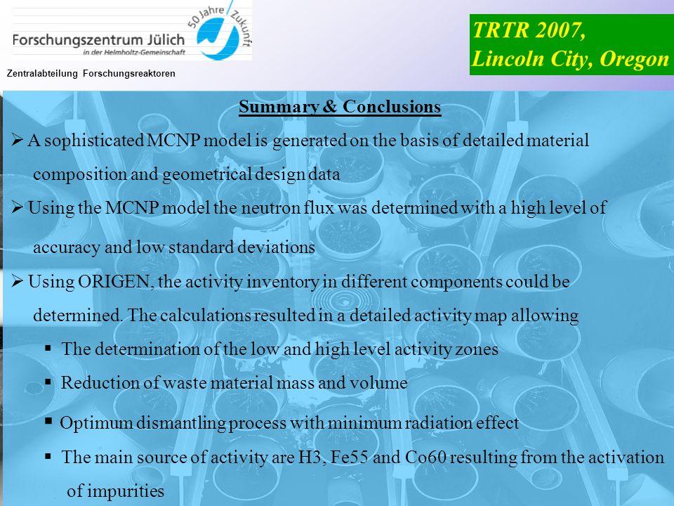 Optimum dismantling process with minimum radiation effect
