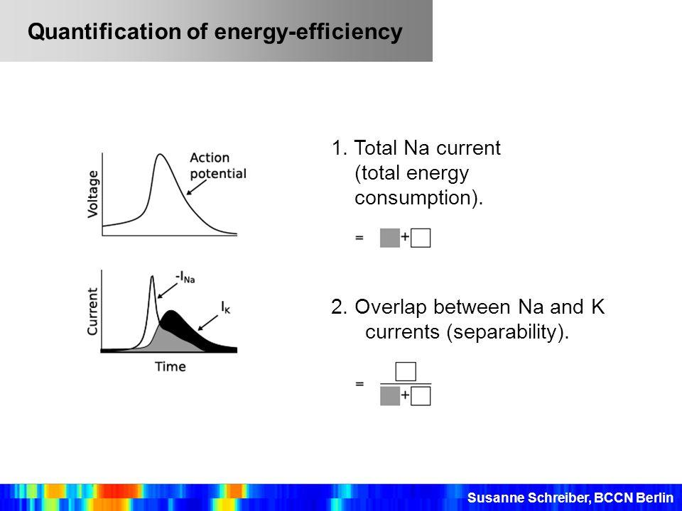 Quantification of energy-efficiency