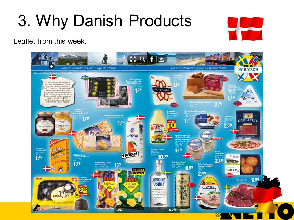 3. Why Danish Products Leaflet from this week: