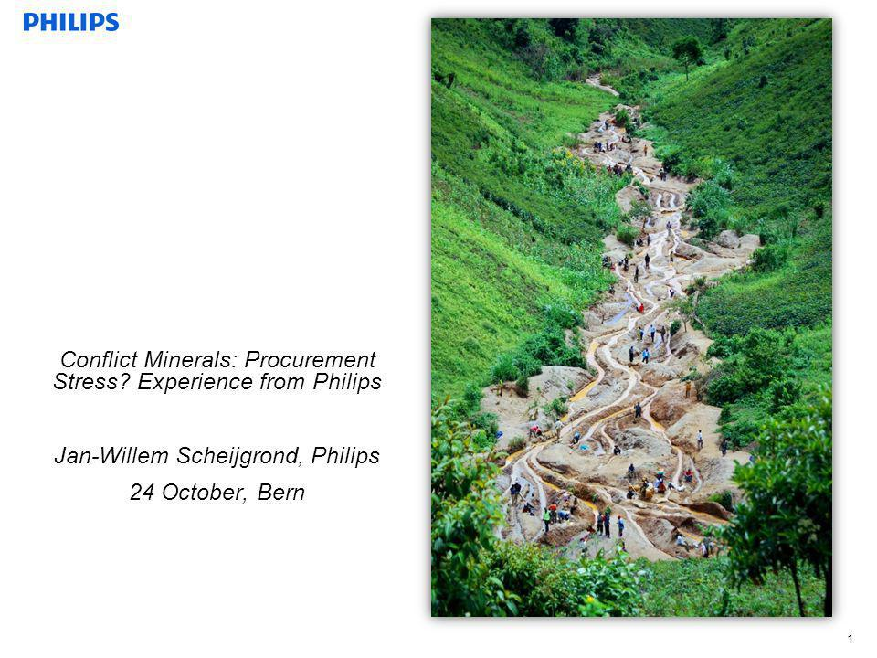 Conflict Minerals: Procurement Stress Experience from Philips