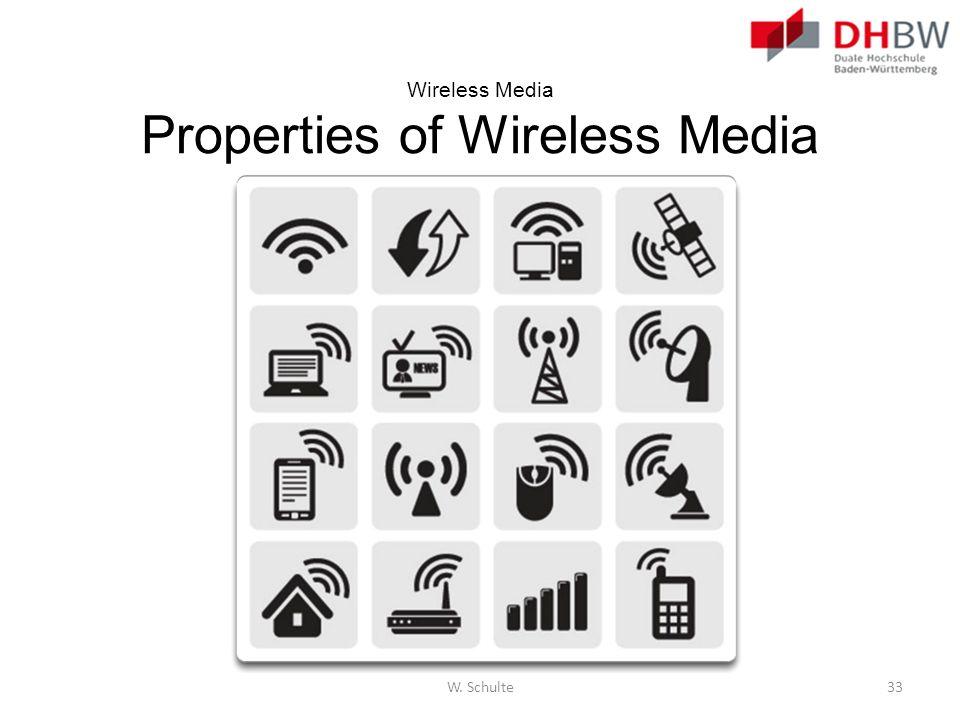 Wireless Media Properties of Wireless Media