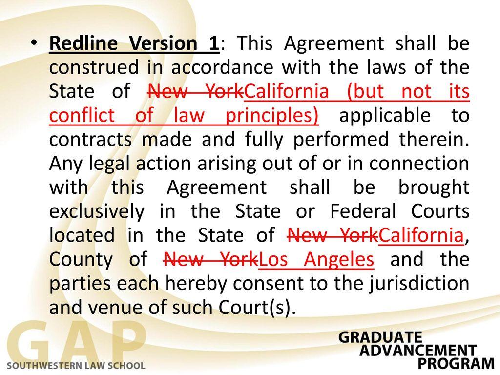 Ii alternative dispute resolution ppt download 23 redline version 1 this agreement platinumwayz