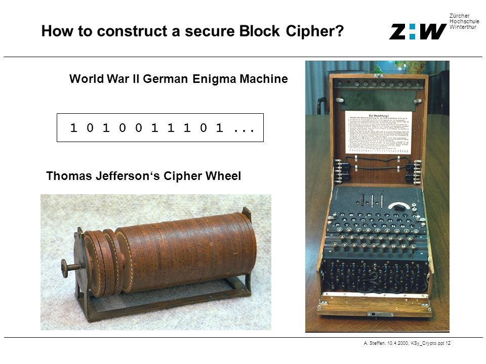 How to construct a secure Block Cipher
