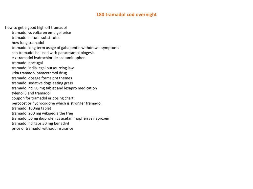Tramadol online overnight cod