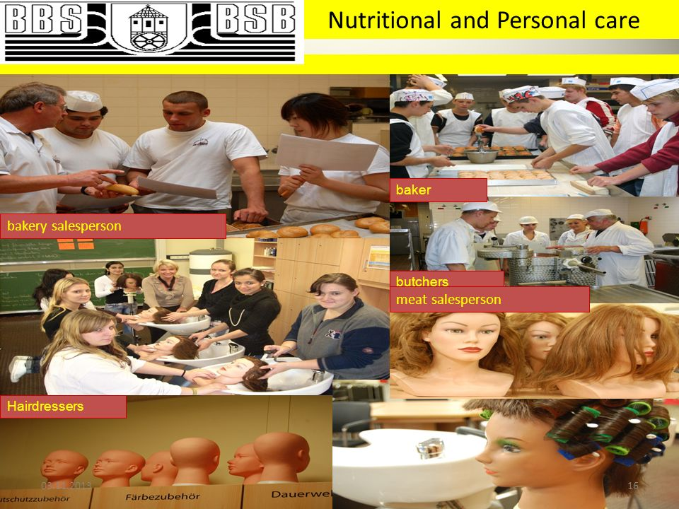 Nutritional and Personal care