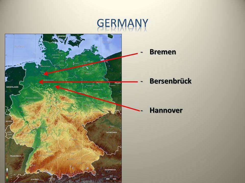 Germany Bremen Bersenbrück Hannover