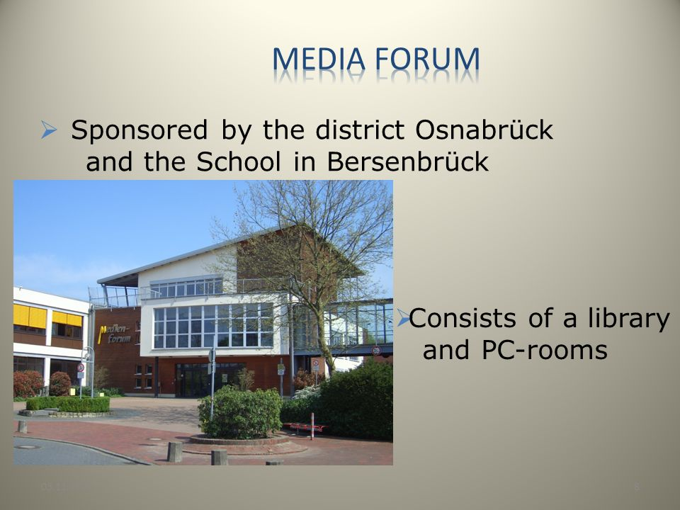 Media forum Sponsored by the district Osnabrück