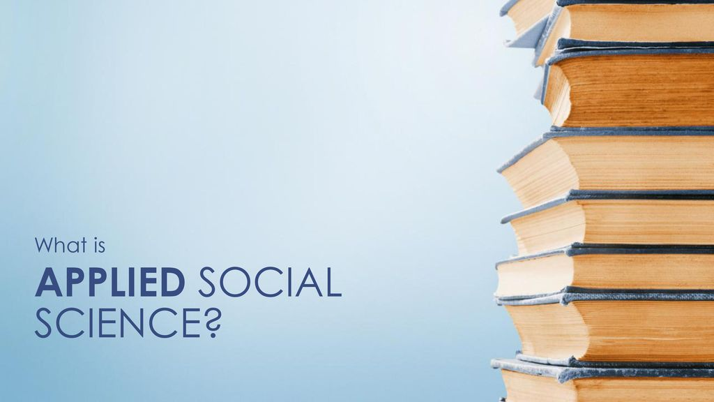 APPLIED SOCIAL SCIENCE