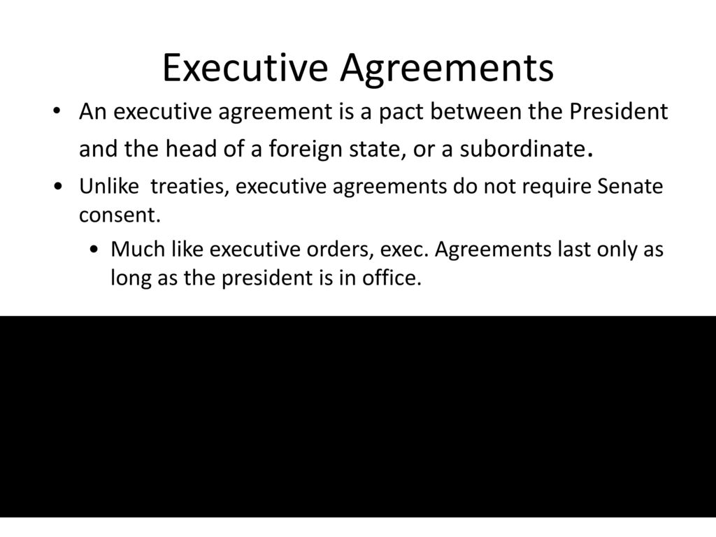 54 the presidents foreign affairs powers ppt download 7 executive agreements platinumwayz