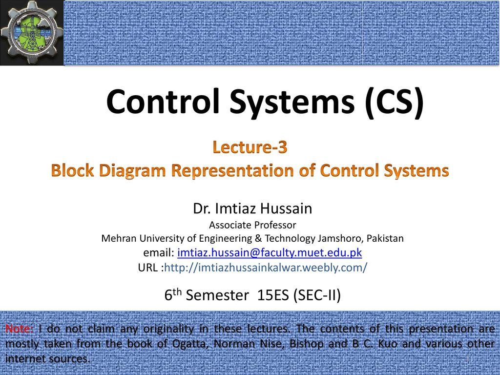 Block diagram representation of control systems ppt download block diagram representation of control systems ccuart Gallery
