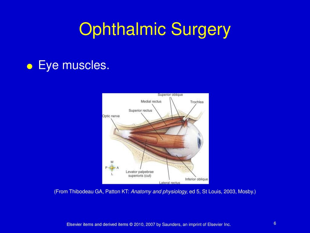 Chapter 26 Ophthalmic Surgery. - ppt download